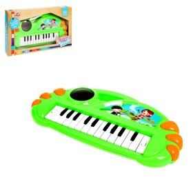 Пианино «Волшебство», световой эффект, 24 клавиши, МИКС