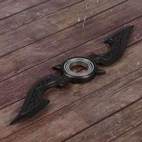 Сюрикен 'Киллер', черно-серый, 2 лезвия, 4*16 см Ош