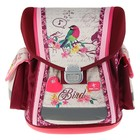 Ранец на замке Belmil Sporty 38 х 32 х 21 см, Bird бордовый/бежевый