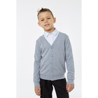 Кардиган для мальчика, рост 116 см, цвет меланж 1S5-001-11811