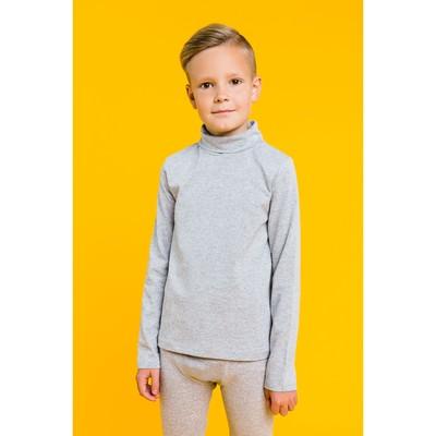 Водолазка для мальчика, рост 134 см, цвет меланж