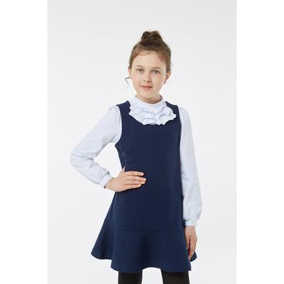 Блузка для девочки, рост 134 см, цвет белый 2S6-006-11811