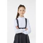 Блузка для девочки, рост 116 см, цвет белый 2S6-007-11811