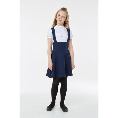 Юбка для девочки, рост 134 см, цвет синий 2S7-001-11811