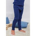 Кальсоны для мальчика, рост 122 см, цвет синий AZ-729