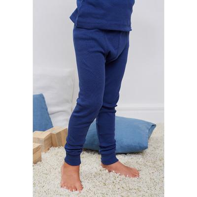 Кальсоны для мальчика, рост 116 см, цвет синий