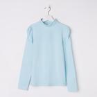 Водолазка для девочки, рост 122 см, цвет голубой 2S6-012-11811