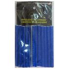Светоотражающие насадки на спицы велосипеда, 12 шт. в упаковке, цвет синий
