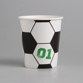 "Glass paper ""Football"", 250 ml"