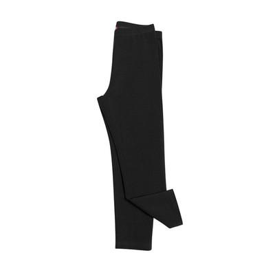 Брюки для девочки, рост 122 см, цвет чёрный