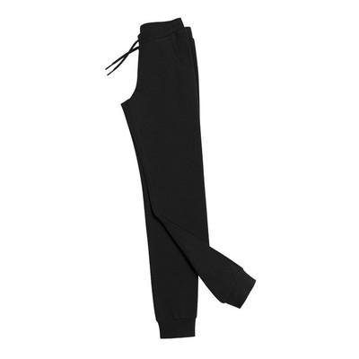 Брюки для девочки, рост 146 см, цвет чёрный