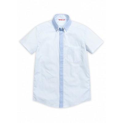 Сорочка верхняя для мальчика, рост 122 см, цвет голубой