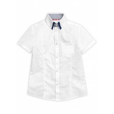 Сорочка верхняя для мальчика, рост 158 см, цвет белый