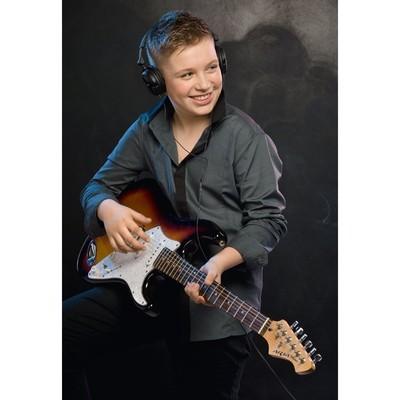 Сорочка верхняя для мальчика, рост 128 см, цвет серый
