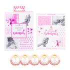 """Подарочный набор """"Подарочный набор принцессы"""": наклейки для фотографирования (12 шт.), фотоальбом на 36 фото"""