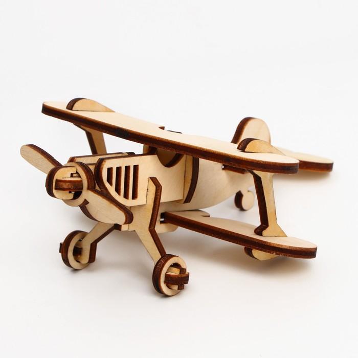 Деревянный конструктор «Самолёт»