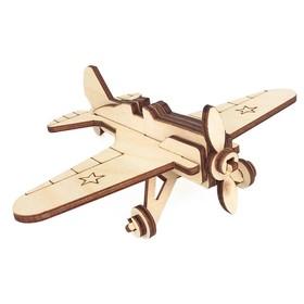 Игрушка-конструктор «Военный самолёт И-16»