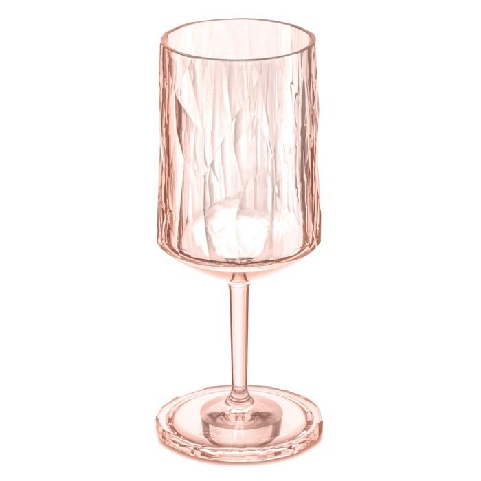 Бокал для вина Superglas CLUB NO. 4, 350 мл, розовый