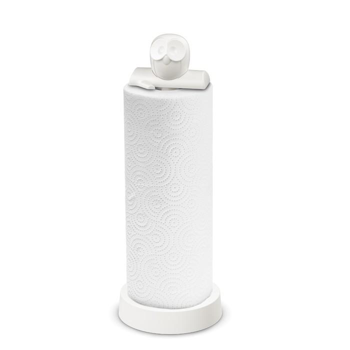 Держатель для бумажных полотенец ELLI, белый