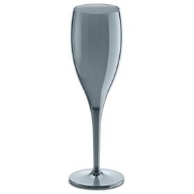 Набор бокалов для шампанского Superglas CHEERS NO. 1, 100 мл, 4 шт, серый