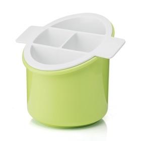 Сушилка для столовых приборов Forme Casa Classic, зеленая