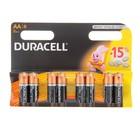 Батарейка алкалиновая Duracell, АА, LR6-8BL, блистер, 8 шт.