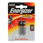 Алкалиновая батарейка Energizer, ААА, LR03, блистер, 2 шт.
