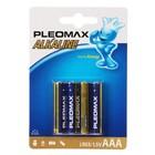 Батарейка алкалиновая Samsung Pleomax, ААА, LR03-4BL, блистер, 4 шт.