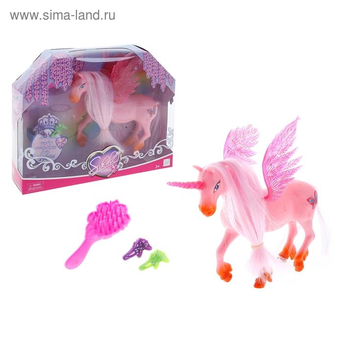 Лошадка Единорог, с аксессуарами