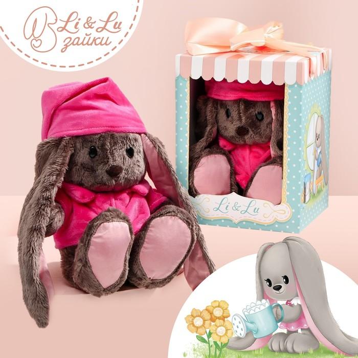 Мягкая игрушка зайка «Малышка Li»