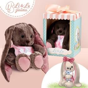 Мягкая игрушка зайка «Леди Li»