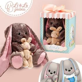 Мягкая игрушка зайка «Li и Didi»