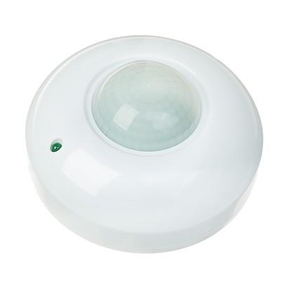 Датчик движения потолочный 1200 Вт, IP 20, 360 градусов, 6 метров, 110-240 В