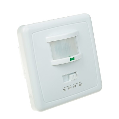 Датчик движения встраиваемый 500 Вт, IP 20, 160 градусов, 9 метров, в стену 240 В