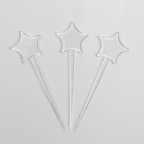Палочки для коктейля «Звезда», набор 24 шт.