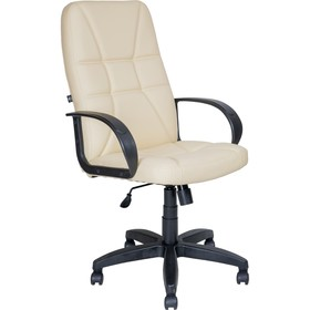 Кресло AV 114 PL,  экокожа, слоновая кость