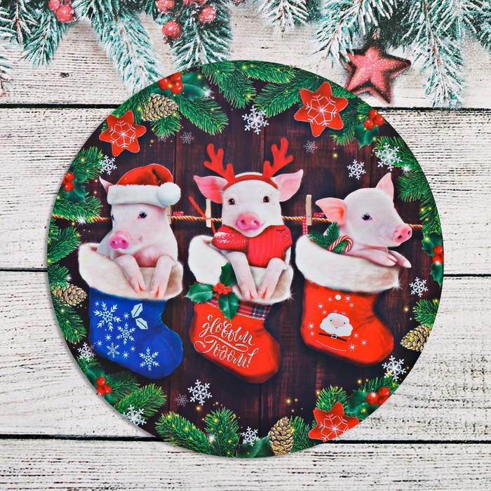 Для папы, открытки новогодние своими руками к году свиньи
