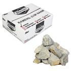 """Камень для бани """"Кварцит"""" белый, колотый, """"Добропаровъ"""" коробка 20кг, фракция 70-120мм"""