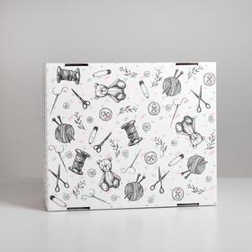 Складная коробка «Хэнд‒мэйд», 31,2 х 25,6 х 16,1 см