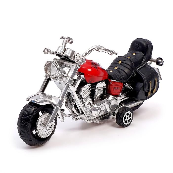 Мотоцикл инерционный «Трайк», цвета МИКС