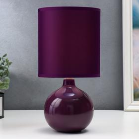 Настольная лампа 'Лацио' 1x40Вт E14 МИКС 17х17х31см. Ош