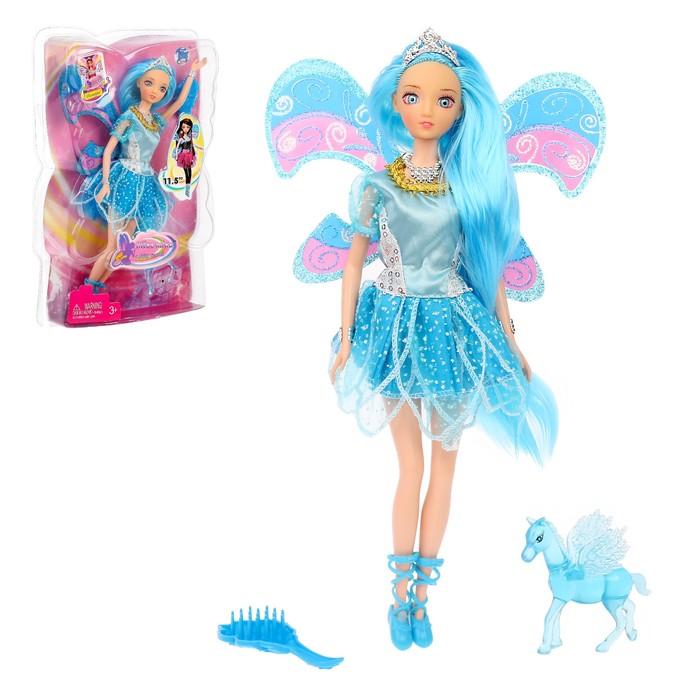 Кукла « Лесная фея» в платье, с аксессуарами