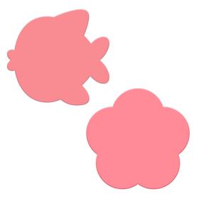Мини-коврики для ванны «Малышка», на присосках, набор 2 шт.