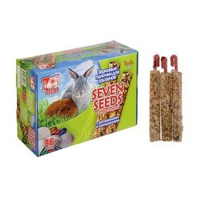 """Набор """"Seven Seeds"""" палочки для грызунов, витамины и минералы, короб, 36 шт, 824 г"""