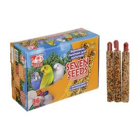 """Набор палочки """"Seven Seeds"""" для попугаев с витаминами и минералами, коробка 36 шт, 786 г"""