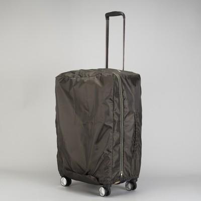Чехол для чемодана, расширение по периметру, цвет т-хаки