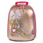 Рюкзак школьный эргономичная спинка 38х29.5х15.5см, Vogue bag, металлизированная эко кожа