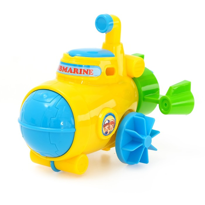 Игрушка заводная водоплавающая «Подводная лодка», МИКС