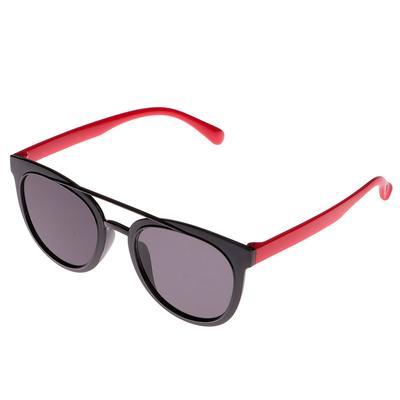 Очки солнцезащитные детские Авиаторы.Оправа и дужки двухцветные,микс,стекла темн 13.5х13.5 см