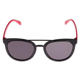 Children's sunglasses, frames and temples TLDs × colored, MIX, dark glass, 13.5 × 13.5 cm